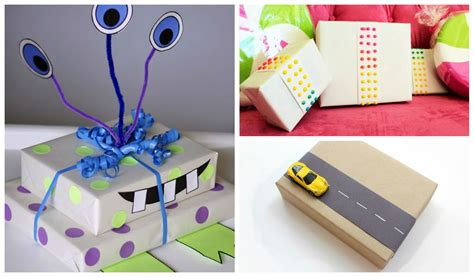 gift for architect 25 cute diy gift wrapping ideas for kids