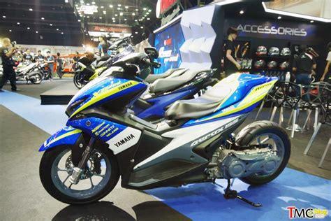 Aerox Modif by Modifikasi Yamaha Aerox 155 Suspensi Monoshock