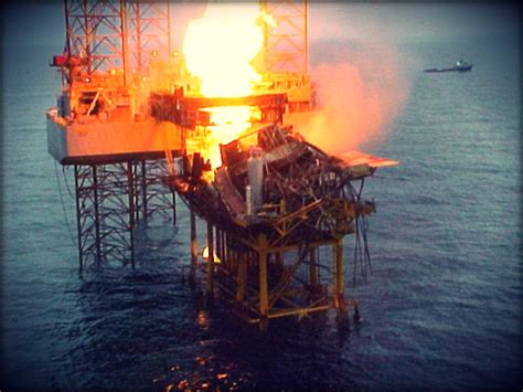 blowout offshore blowout and consequent onboard offshore platform