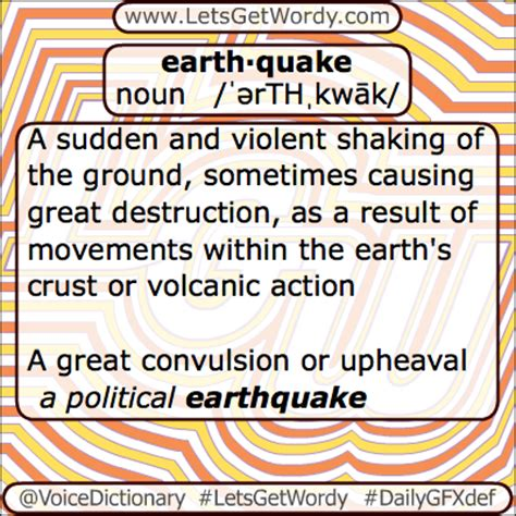earthquake meaning earthquake 04 18 2013 gfx definition of the day
