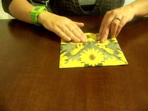 tovaglioli di carta piegati fiore tovaglioli a fiore di loto