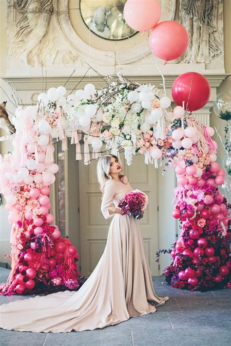 Wedding Arch Balloons by 20 Beautiful Wedding Arch Decoration Ideas For Creative