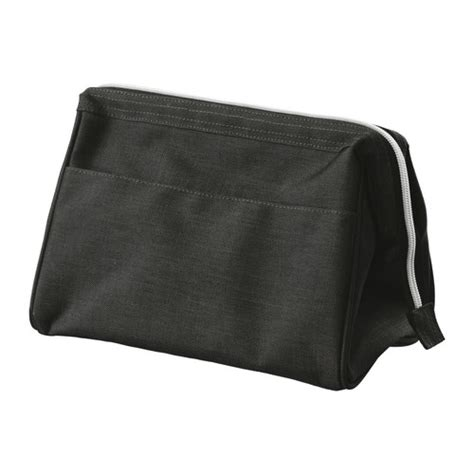 ikea bags uppt 196 cka toiletries bag dark gray ikea