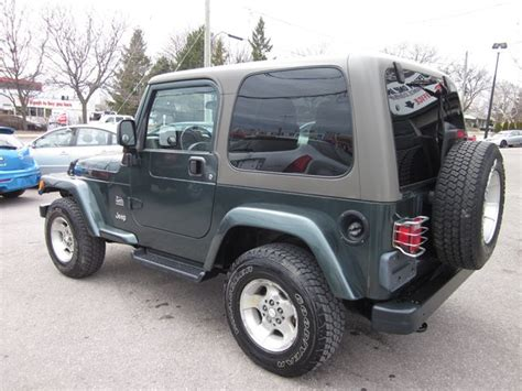 Used Jeep Wrangler Ta 2003 Jeep Wrangler Tj Tj Shara With Soft Top
