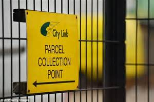 city link courier uk a million parcels stuck in depots after failure of courier