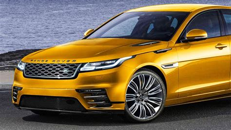 2019 Road Rover Velar Concept Luxury Electric Sedan From