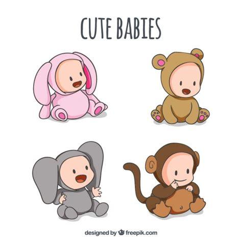 imagenes de animales bebes animados mono fotos y vectores gratis