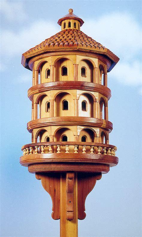 italian colony birdhouse woodworking plan