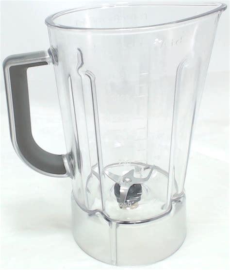 Kitchenaid Blender Parts Kitchenaid Plastic Blender Jar Assembly 56 Oz Ap5804640