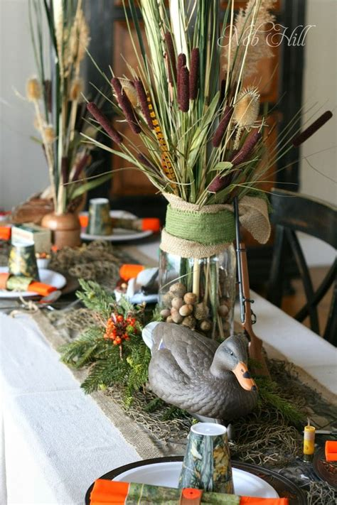 Duck Dynasty Home Decor by Best 25 Masculine Centerpieces Ideas On 60th