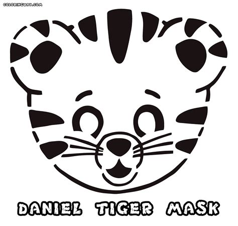 tiger mask coloring page pin download pocahontas on pinterest