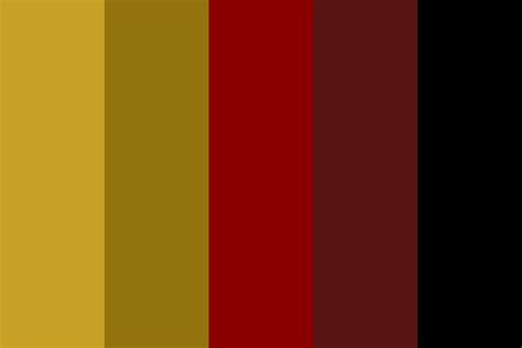 gryffindor colors gryffindor house colors color palette