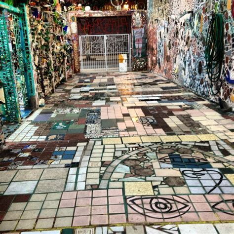 Mosaic Garden Philly philadelphia magic garden mosaic museum mosaics