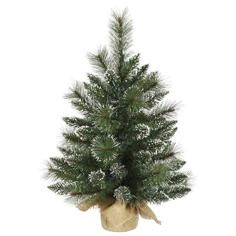 vickerman 2 unlit snow tipped mixed pine artificial