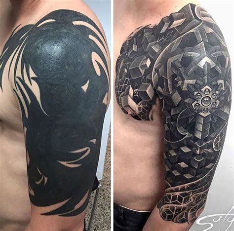 black tribal tattoo cover up 25 best ideas about tribal cover up on