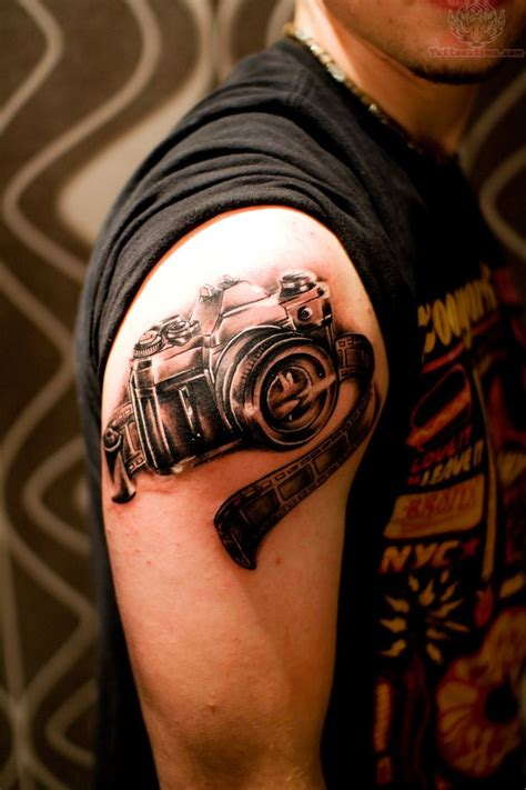 film strip tattoo and