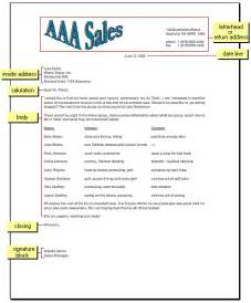 Business Letter Label Parts Labeled Parts Of A Business Letter Images