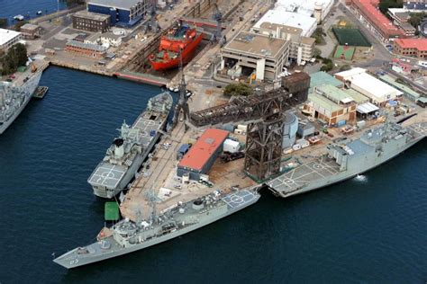 cruise boat jobs australia naval ships docked at garden island abc news australian