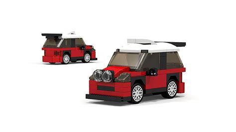 Lego Rally Car lego mini cooper works wrc rally car