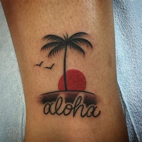 aloha tattoo photo of mid pacific lahaina hi united states
