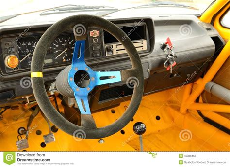 Rally Auto Innen by Vintage Rally Car Inside Stock Image Image Of Retro