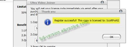 ultra video joiner full version free download with key download ultra video joiner 6 3 incl serial key number crack
