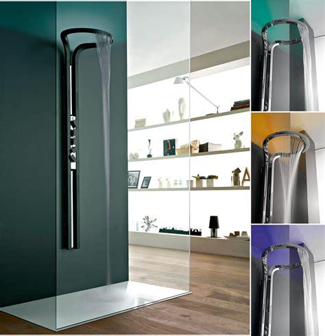colonna doccia cromoterapia rubinetteria bagno soffioni con cromoterapia cose di casa