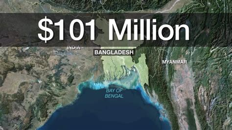 bankladesh bank bangladesh central bank hit by 101 million heist