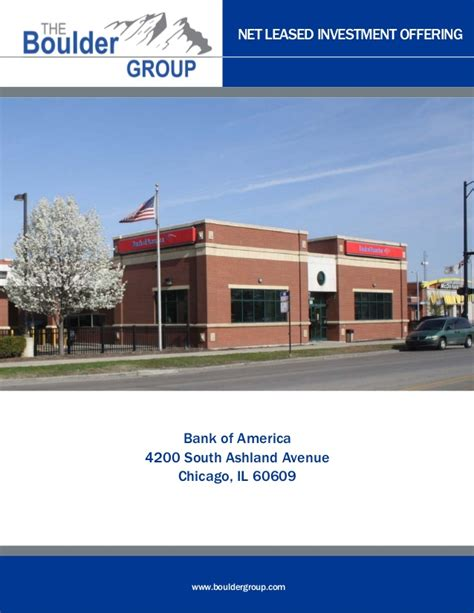 lease bank single tenant net lease bank of america for sale