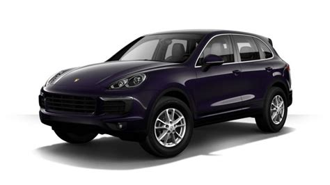 Porsche Cayenne Options List Which Colors Does The 2017 Porsche Cayenne Come In