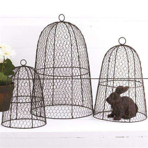 17 best images about wire cloche s on pinterest nests