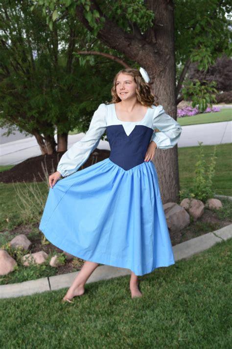 pattern for ariel blue dress adult ariel little mermaid blue kiss the girl land costume