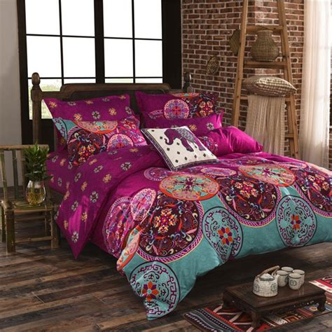 winter comforter sets bohemia 4pc 3d comforter bedding sets mandala duvet cover