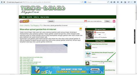 membuat iklan melayang 1 login dulu ke akun blog sobat