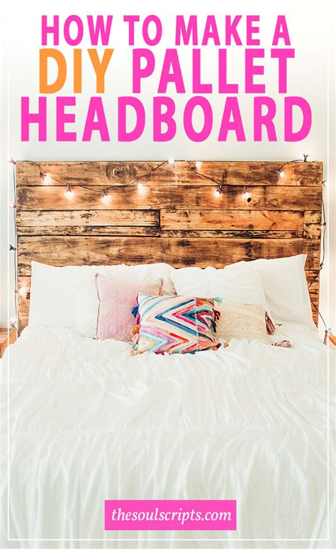 how to make a diy pallet headboard like ours soulscripts