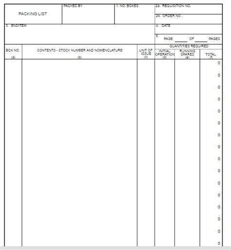 dd template dd form 1750 free word templates