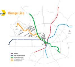 dart org orange line map