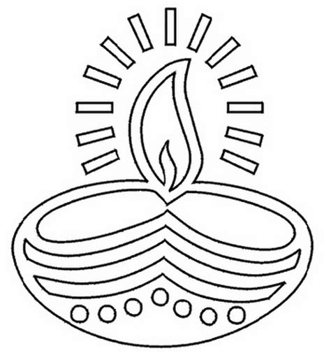 Diwali Coloring Page diwali colouring pages family net guide to