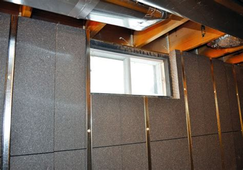 basement wall insulation panels model best basement wall