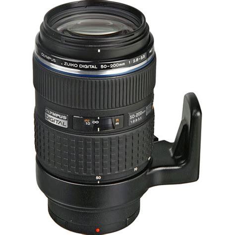 olympus digital olympus 50 200mm f 2 8 3 5 ed swd zuiko zoom lens 261015 b h