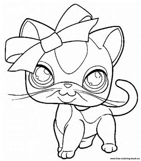 lps cats coloring pages coloring pages littlest pet shop page 2 printable