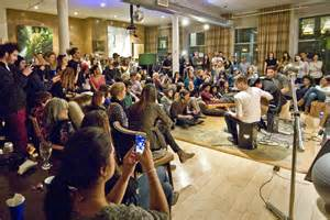 Living Room Concert Portland Nyc S Most Sought After Concerts Taking Place In Living