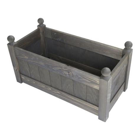 Trough Planter Liners by 26 Clarence Classic Chestnut Planter Trough With Plastic