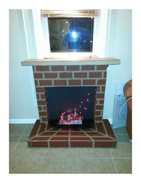 Fireplace Cardboard by 17 Best Ideas About Cardboard Fireplace On