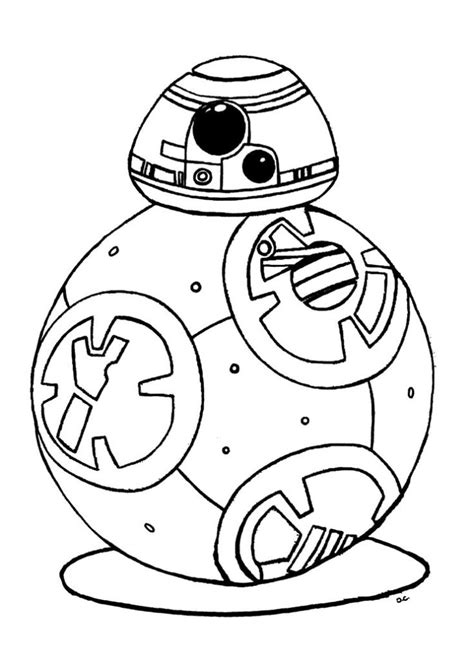 new star wars coloring page coloring pages free printable star wars bb 8 coloring