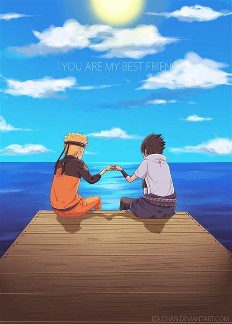 naruto you are my friend naruto you are my best friend by iza chan on deviantart