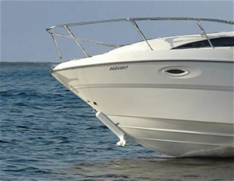 bow or stern of a boat bow thruster boatdealers ca