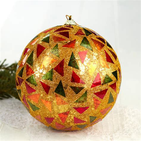when do christmas ornaments go on sale at walmart gold mosaic ornament on sale crafts