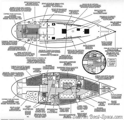 sailboat layout first 42 shoal draft b 233 n 233 teau sailboat specifications