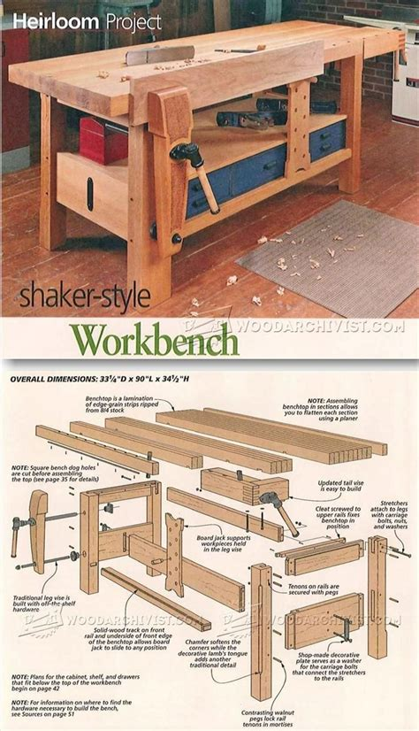 17 best ideas about garage workbench on